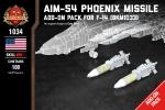 AIM-54 Phoenix Missile - Pack for F-14 (BKM1033)
