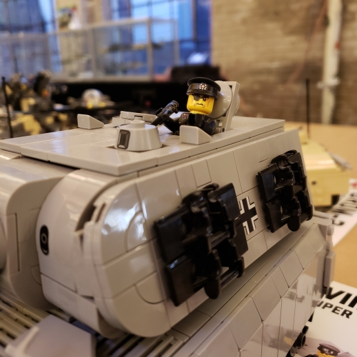 Auction: Classic Brickmania Kits For Sale Tomorrow Like This German Maus