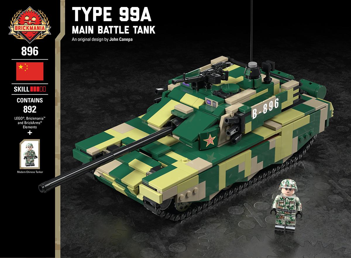 Type 99a Main Battle Tank Brickmania Blog
