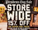 Storewide Sale: Save 15% With Code PREZ19 Today