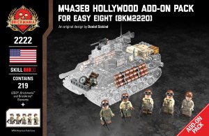 M4A3E8 Hollywood Add-On Pack - For Easy Eight