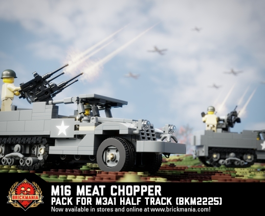 M16 Meat Chopper - Multiple Gun Motor Carriage Pack for M3A1 Half Track