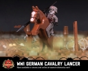 WWI German Cavalry Lancer