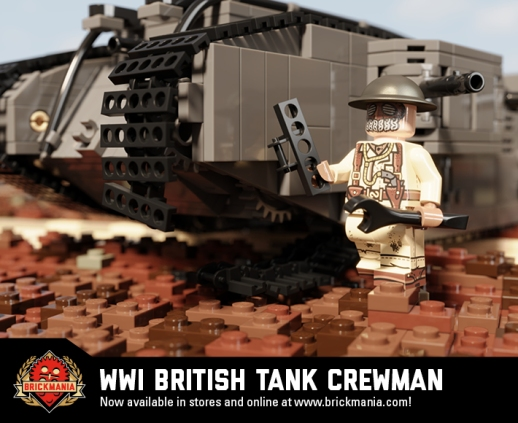 WWI British Tank Crewman