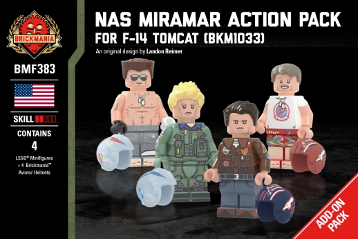 NAS Miramar Action Pack - For F-14 Tomcat