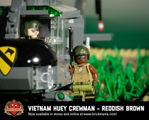 Vietnam Huey Crewman (Reddish Brown)