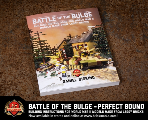 Battle of the Bulge: Building instructions for World War II Models made from LEGO® Bricks