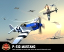 P-51D Mustang - Long-Range Fighter