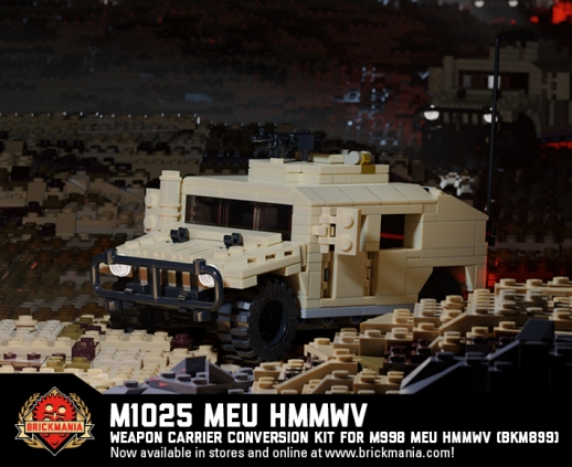 M1025 MEU HMMWV - Weapon Carrier Conversion Kit For M998 MEU HMMWV