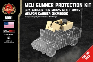 MEU Gunner Protection Kit - Add On Kit For M1025 MEU HMMWV