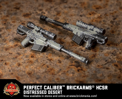 Brickmania Perfect Caliber™ BrickArms® HCSR Distressed Desert