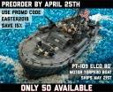 PT-109 Elco 80' Motor Torpedo Boat
