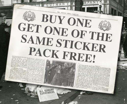 Brickmania's VE Day Sale