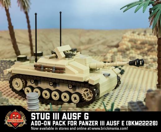 StuG III Ausf G - Add-On Pack for Panzer III Ausf E