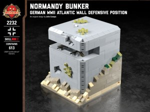 Normandy Bunker - German WWII Atlantic Wall Defensive Position
