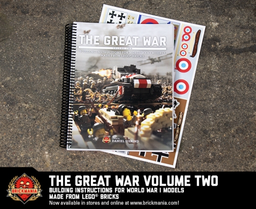 The Great War Volume Two: Instructions for WWI models using LEGO® Bricks