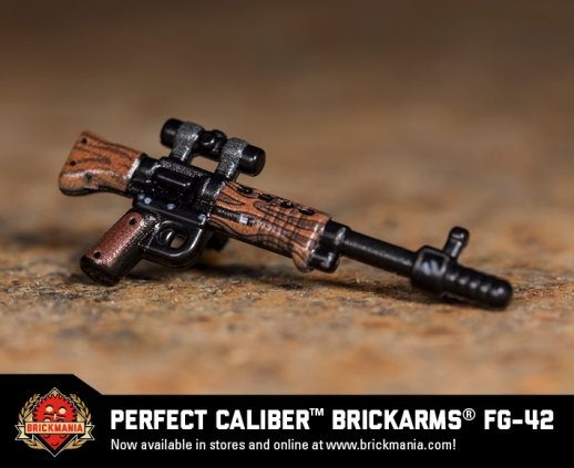 Brickmania Perfect Caliber™ BrickArms® FG-42