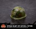 Vietnam Helmet with Mitchell Pattern