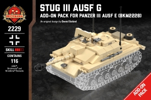 StuG III Ausf G - Add-On Pack for Panzer III Ausf E