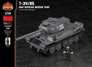 T-34/85 - WW2 Russian Medium Tank
