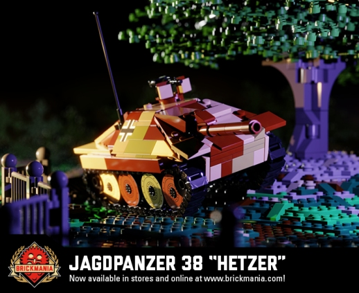 "Jagdpanzer 38 ""Hetzer"" - Light Tank Destroyer"