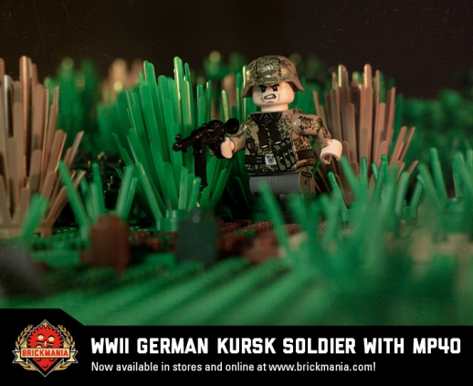 Restock: WWII German Kursk Soldier with MP40 | Brickmania Blog