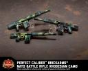 Brickmania® Perfect Caliber™ BrickArms® NATO Battle Rifle Rhodesian Camo