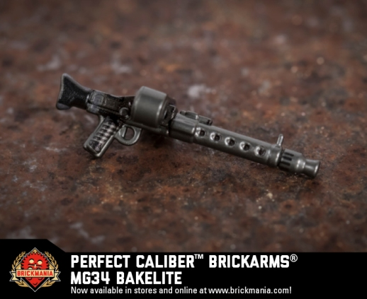 Brickmania® Perfect Caliber™ BrickArms® MG34 Bakelite