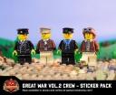 Great War Volume 2 Crew - Sticker Pack