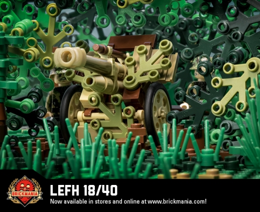 LeFH 18/40 - 10.5cm Light Howitzer