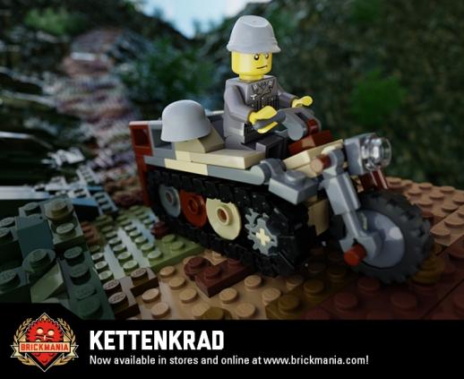 Kettenkrad - Kleines Kettenkraftrad HK 101 SdKfz 2