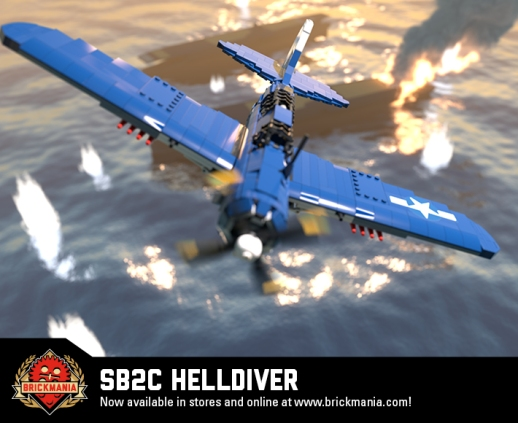 SB2C Helldiver - Carrier-Based Dive Bomber