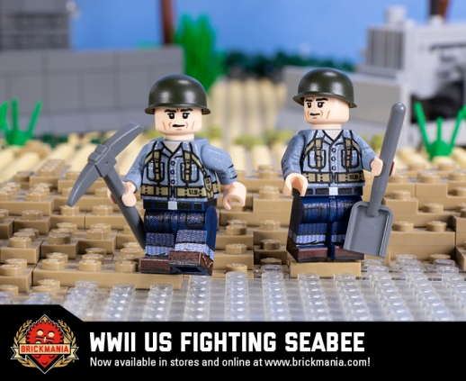 WWII US Fighting Seabee