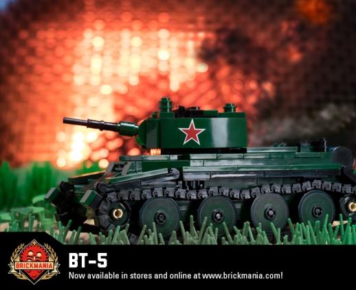 BT-5 - Cavalry Tank