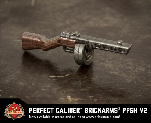 Brickmania® Perfect Caliber™ BrickArms® PPSh V2