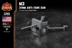 M3 - 37mm Anti-Tank Gun