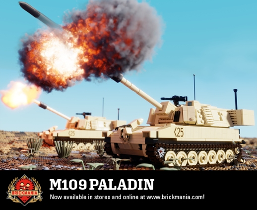 M109 Paladin - Self-Propelled Howitzer