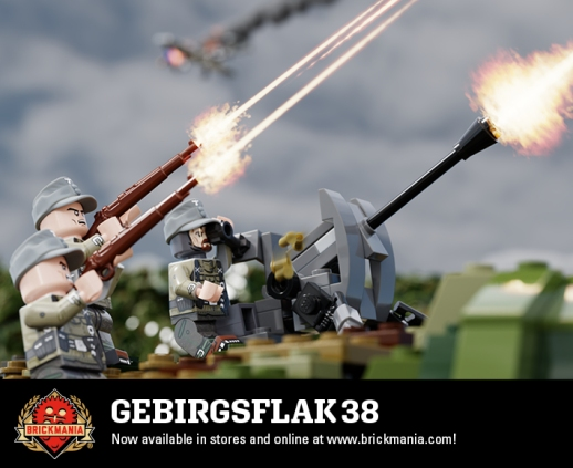Gebirgsflak 38 - 20mm Anti-Aircraft Gun