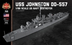 USS Johnston DD-557 - 1/96 Scale US Navy Destroyer