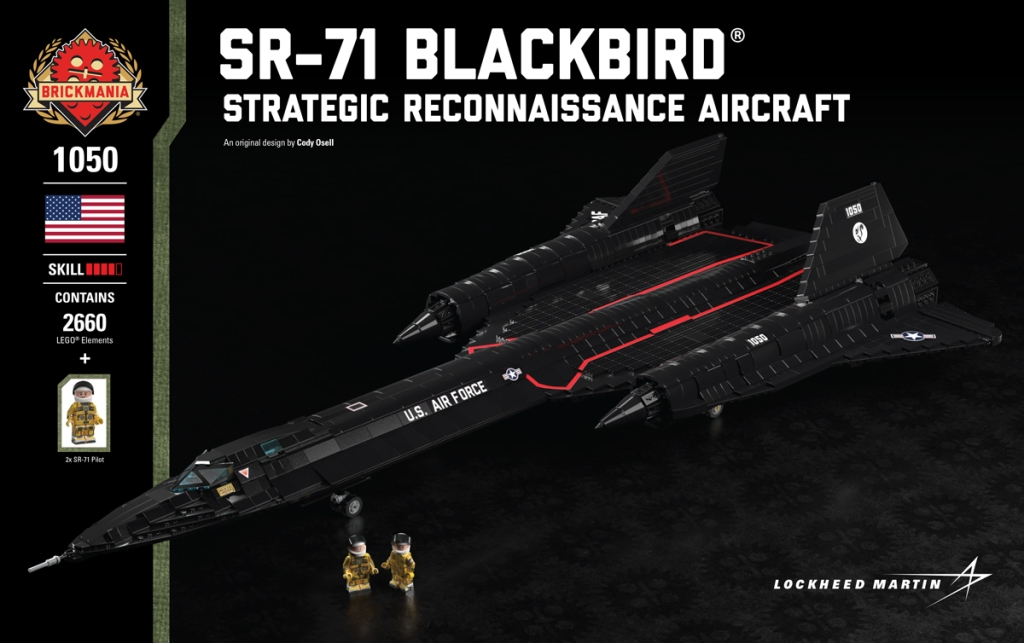 SR-71 Blackbird Building Kit