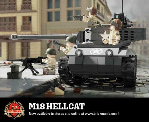 2268 M18 Hellcat Action Webcard