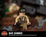 WWII BAR Gunner