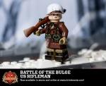 Battle of the Bulge US Rifleman