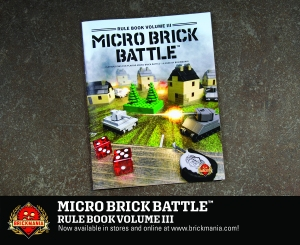 Micro Brick Battle Rule Book Vol. III