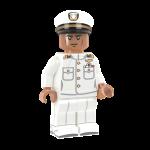 US Navy Officer in Dress Whites - DF
