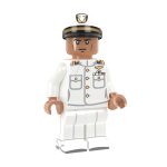 US Navy Officer in Dress Whites - DF