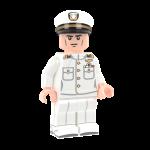 US Navy Officer in Dress Whites - LF