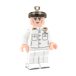 US Navy Officer in Dress Whites - LF