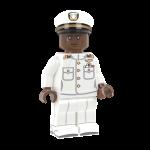US Navy Officer in Dress Whites - RB