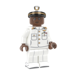 US Navy Officer in Dress Whites - RB